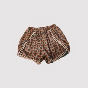 peach love party shorts